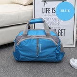 blue Women's Gym Bag
