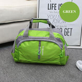 green Women's Gym Bag