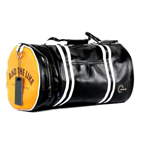GDA PU leather Duffle Gym Bag