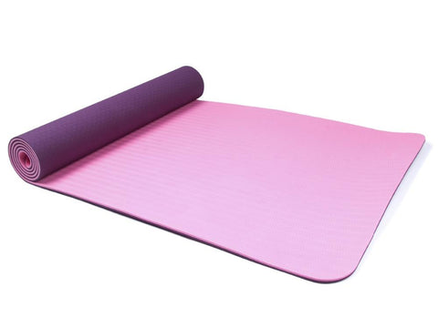 Purple Women Exercise Mat