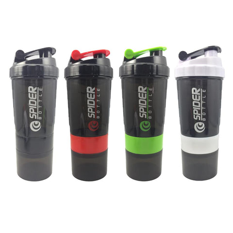 Whey Protein Shaker Bottle With Three-layers