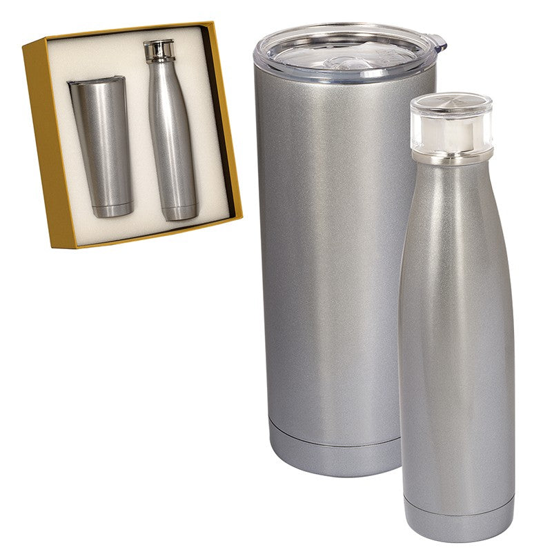 DUO VACUUM INSULATED DRINKWARE GIFT SET
