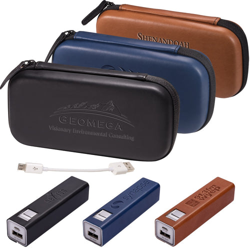 TECH CASE AND POWER BANK GIFT SET