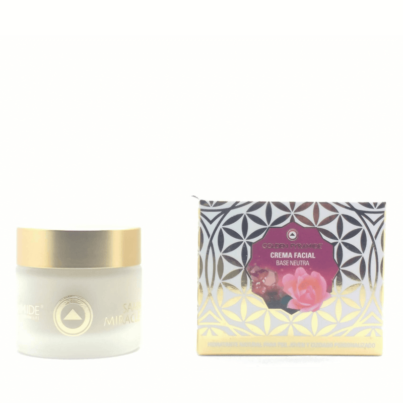 Crema Facial Base Neutra Hipoalergénica