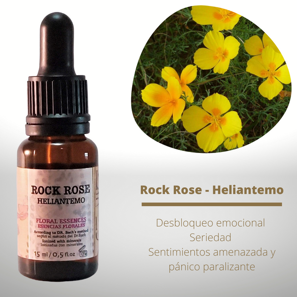 Esencia floral de Rock Rose (Heliantemo)