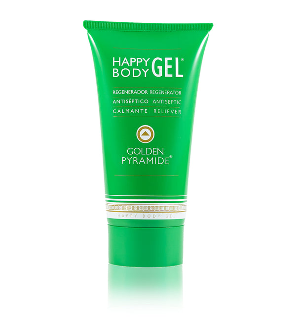 GEL PURIFICANTE  HAPPY BODY ALOE + regenerador · antiséptico · calmante