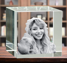 Load image into Gallery viewer, 3D Crystal Cube