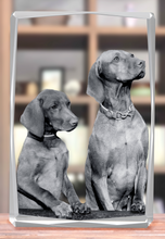 Load image into Gallery viewer, 3D Crystal Statuette - Bevel Edge
