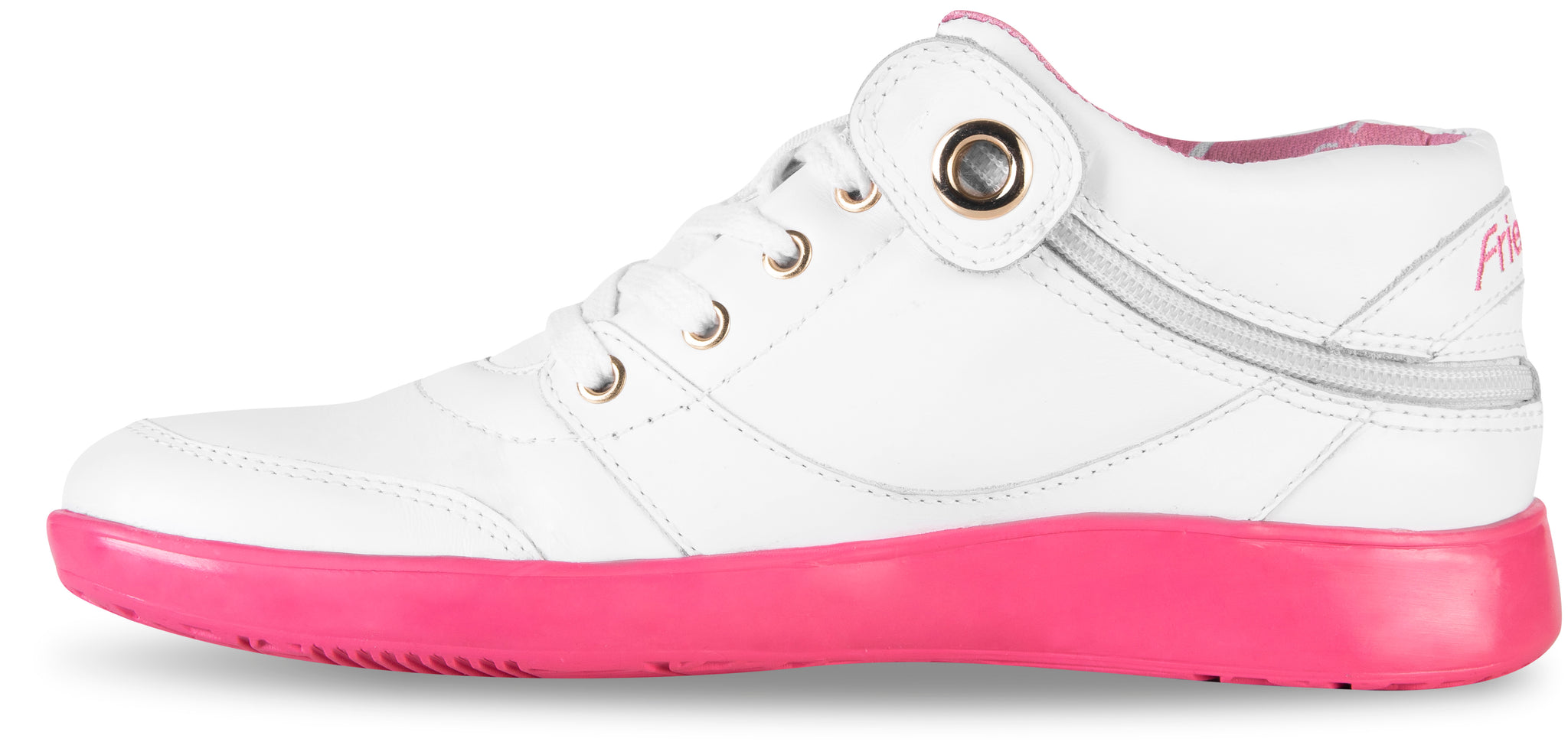 Women's Rose White Leather (LIMITED QUANTITY!)