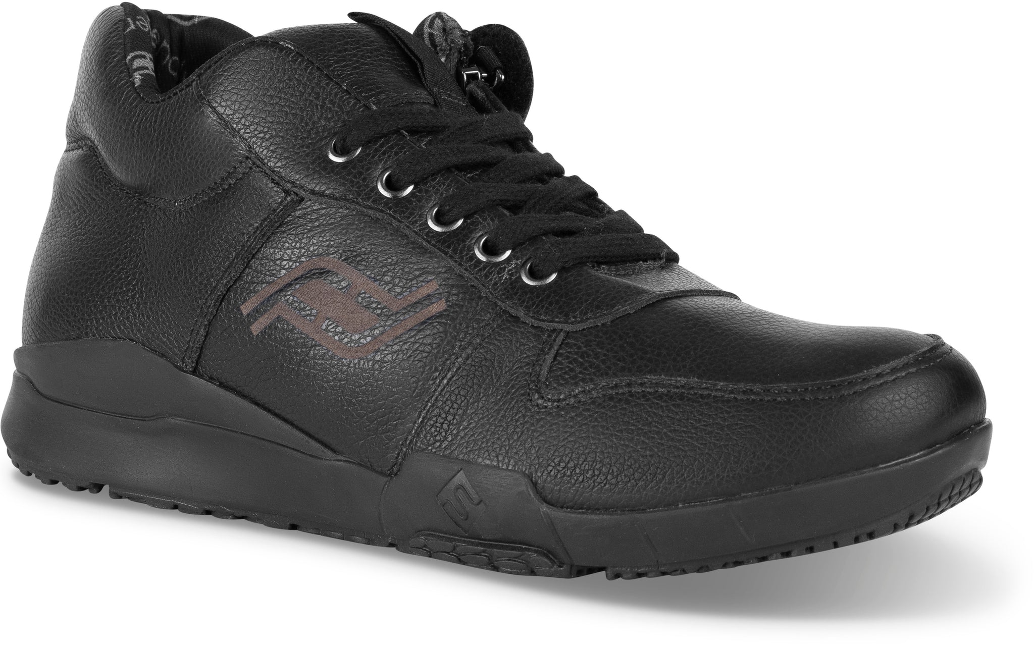 Men's Medimoto Black Leather