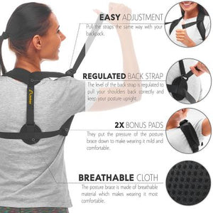 STRAIGHT UP BACK POSTURE CORRECTOR