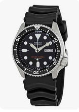 Load image into Gallery viewer, BUY 1 TAKE 1 Seiko 5 Divers Mens Black Rubber Quartz W0044 OEM  Casual Sport Watch