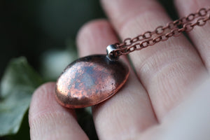 RESONANCE Handmade Copper & Sterling Silver Necklace