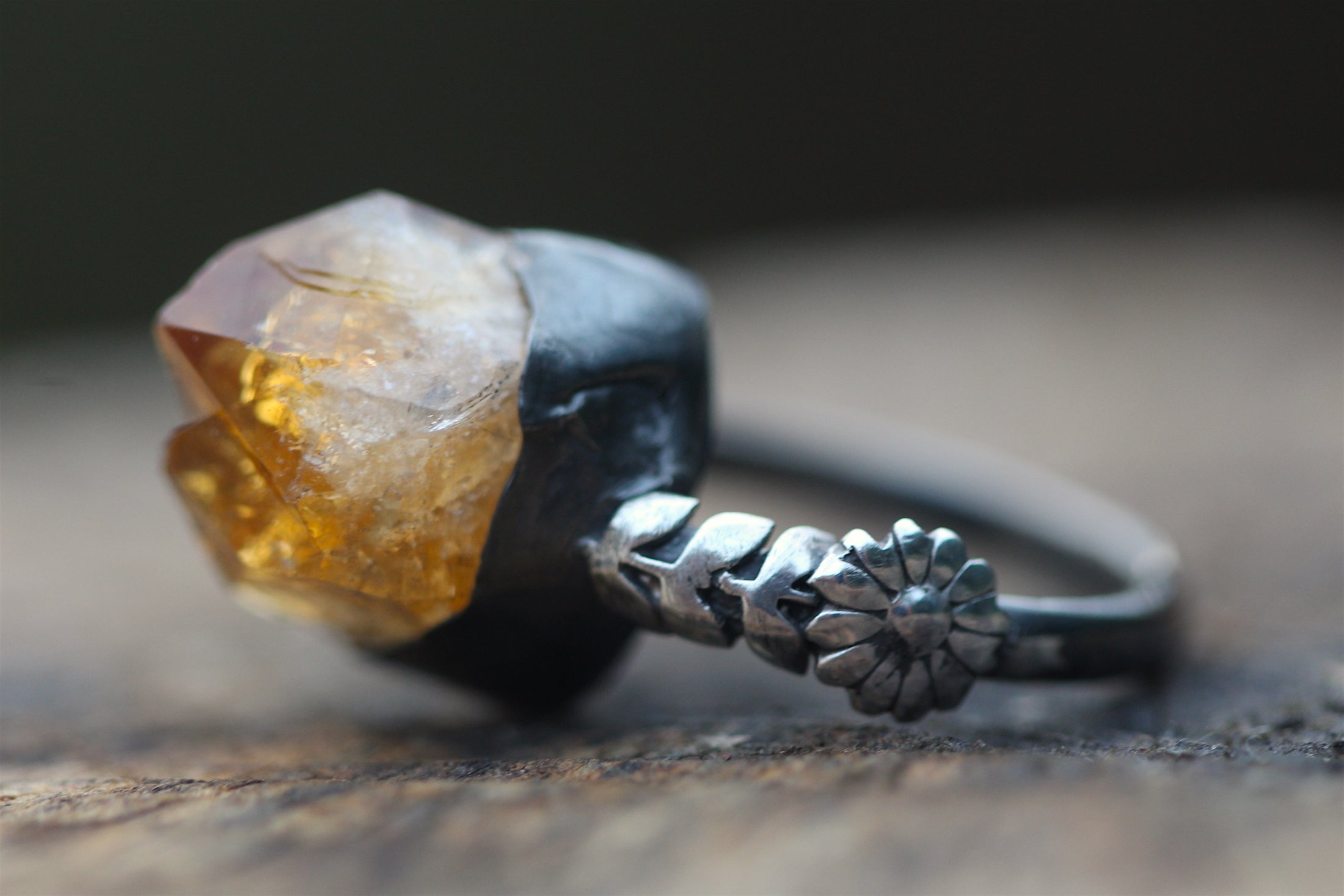 RISING WARMTH Citrine & Sterling Silver Ring
