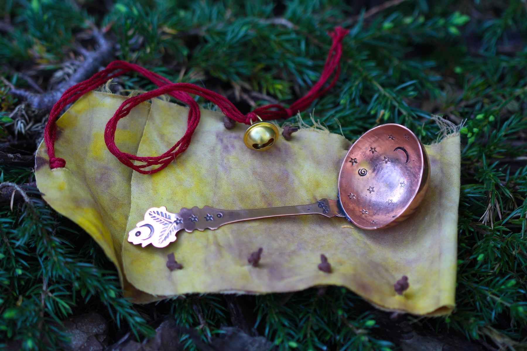 WITCHES SPOON No. 1 - Handmade Copper Spoon