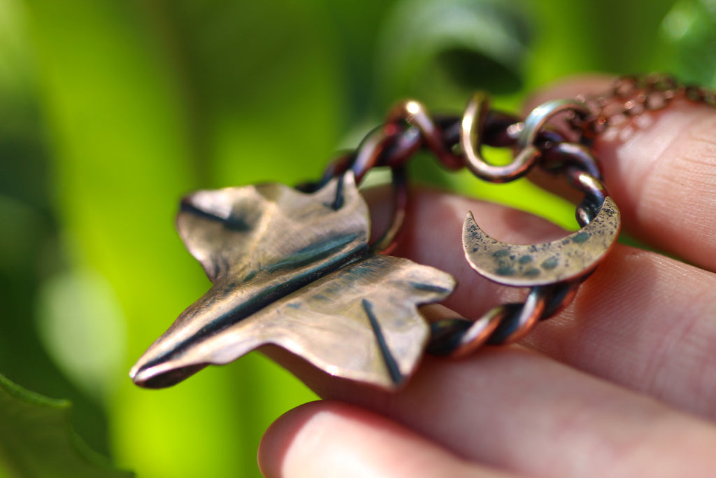 IVY TALISMAN Handmade Copper Necklace