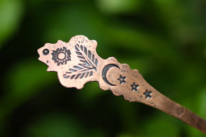 WITCHES SPOON No. 2 - Handmade Copper Spoon
