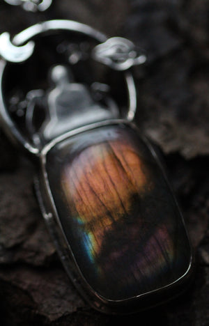 CELESTIAL VISIONS Labradorite & Sterling Silver Necklace