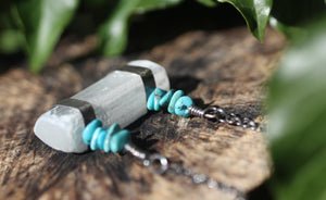 LIGHT KEEPER Selenite & Sterling Silver Necklace