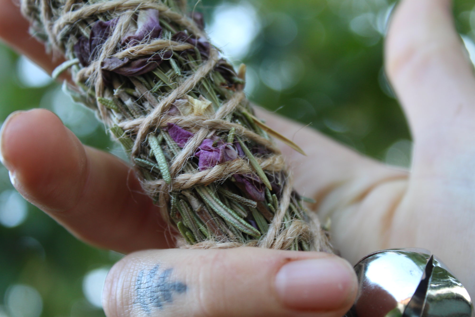 EXHALE Handmade Herbal Smudge Stick