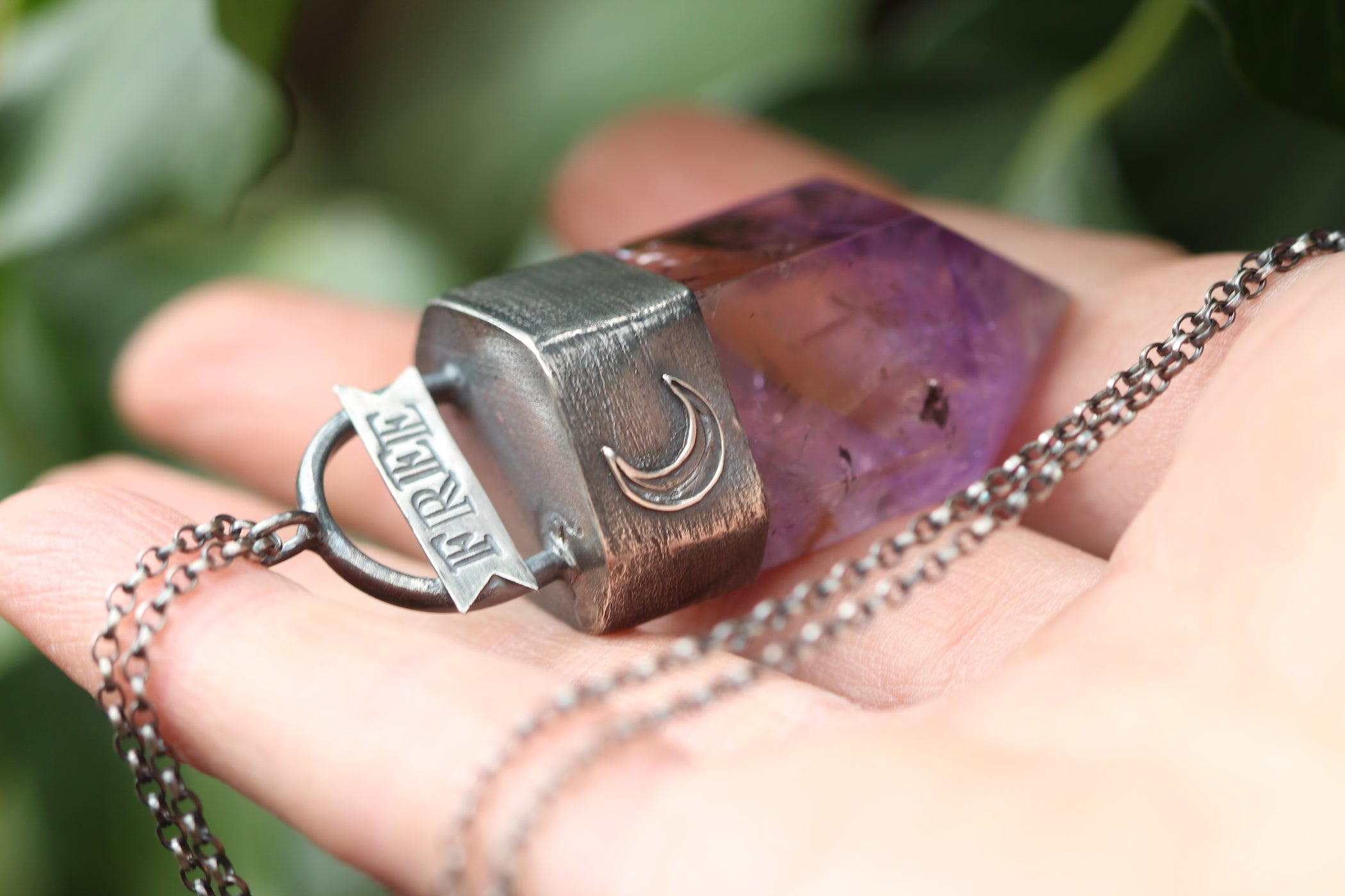 FREE SPIRIT Ametrine & Sterling Silver Necklace