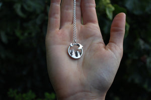 WILDERNESS WITHIN II Handmade Sterling Silver Necklace