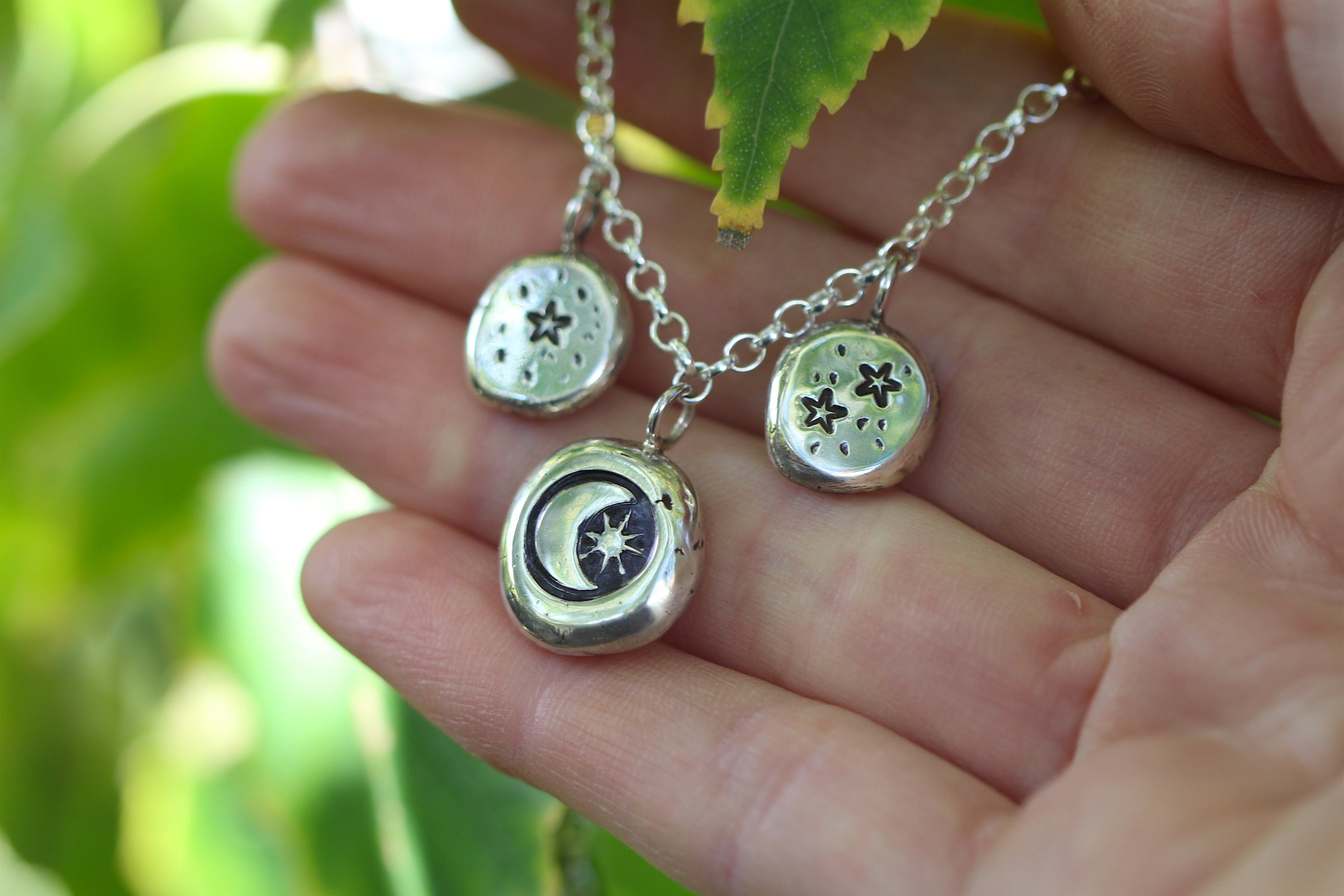 STARGAZE Lovingly Handmade Sterling Silver Necklace