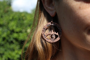 AWAKEN Handmade Copper Earrings