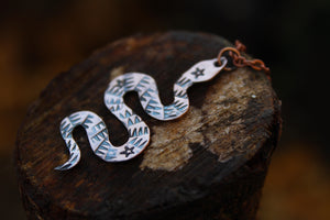 SERPENT Handmade Copper Necklace