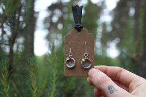 Sterling Silver EXPLORE Earrings
