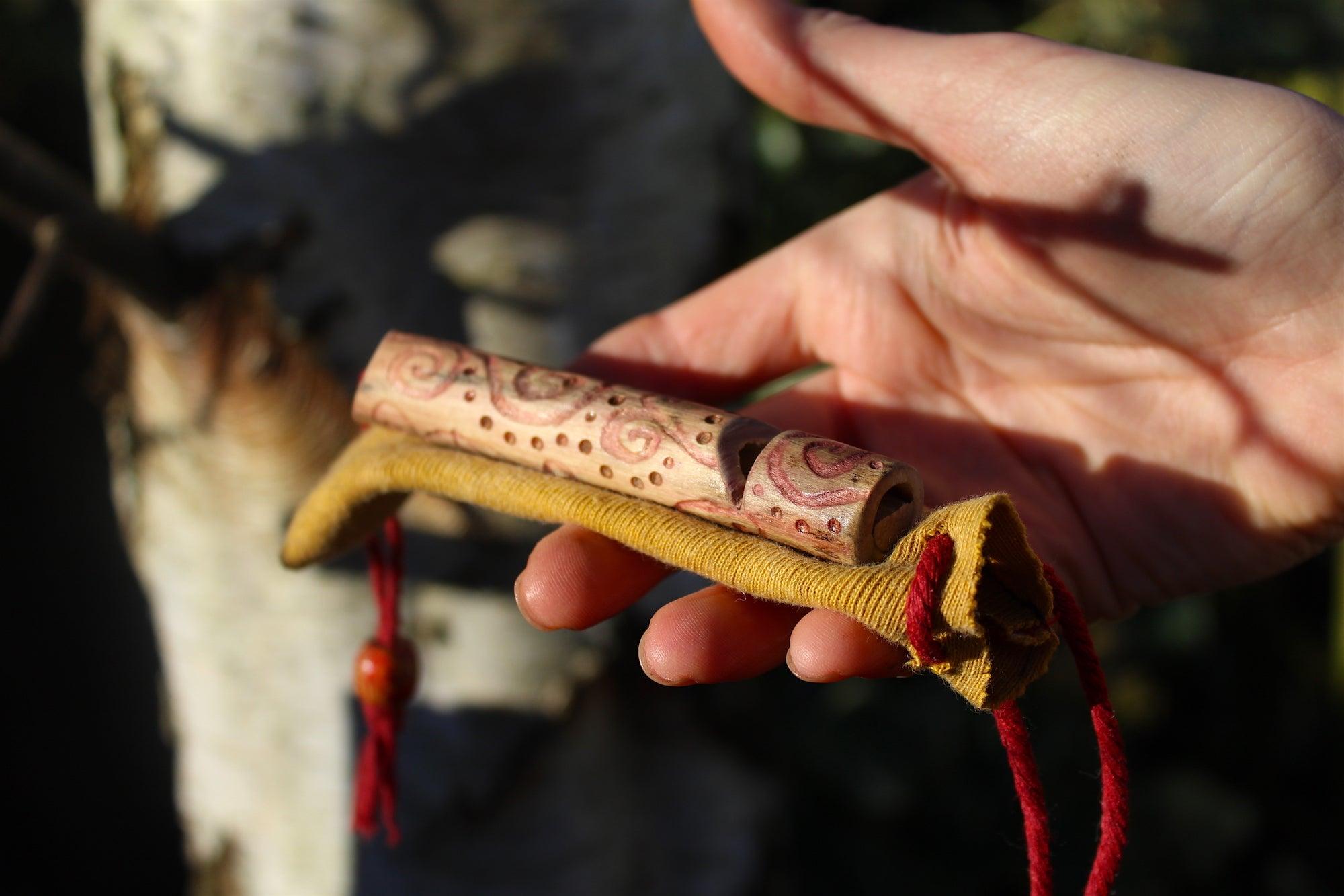 Beetroot Dyed Elder Wilderness Whistle