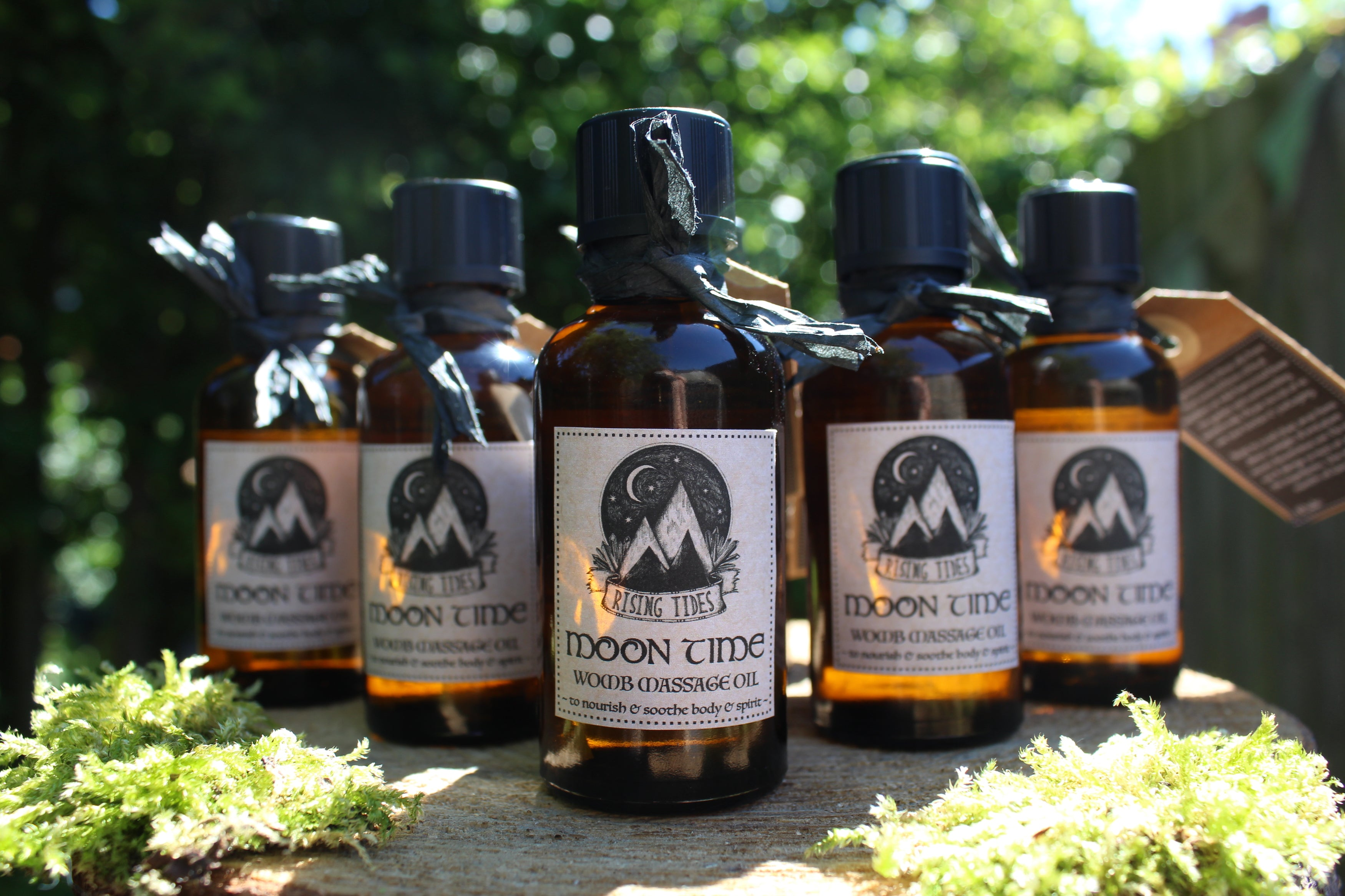Moon Time Womb Massage Oil (last one left)