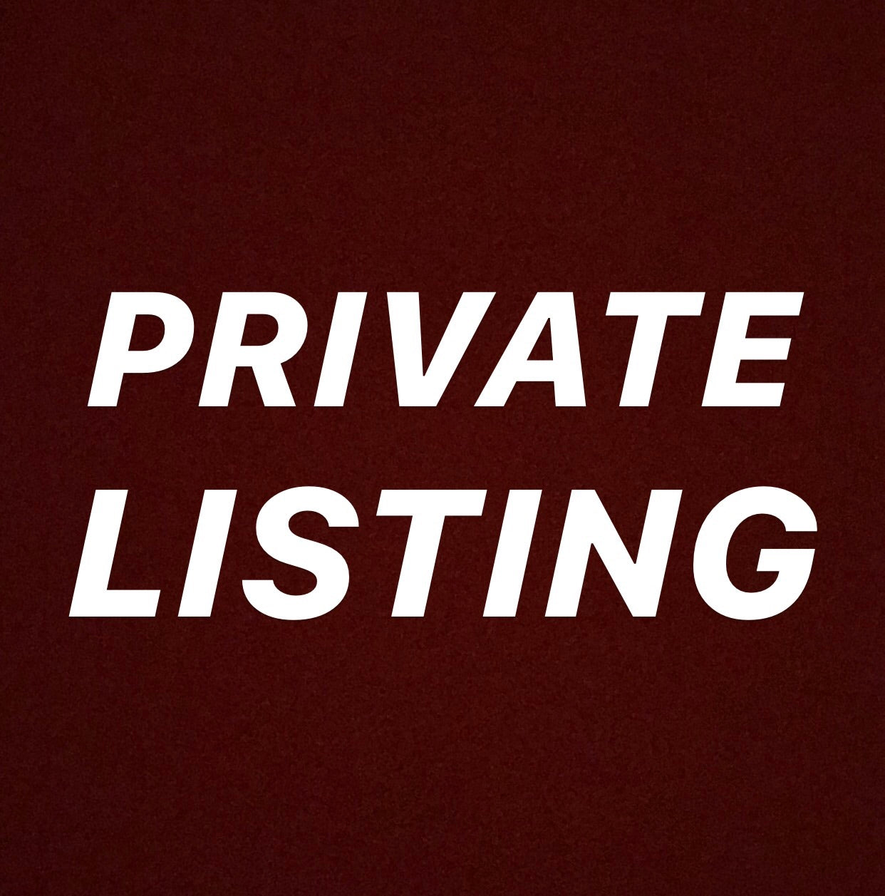 Private listing for Sheree Shaw
