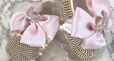 bling crystal shoes