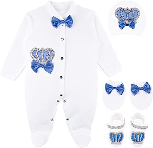 Welcome Home Baby Jeweled Suit Set