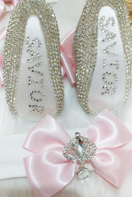 New Style Customized 2 Pieces Shoes and Headband Gift Set