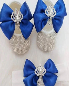 Handmade 2 Pieces Shoes and Headband Gift Set