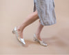 PRE-ORDER Holly [Low Heel Pump] Silver