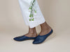 MADE-TO-ORDER Willow [Sabot Mule] Navy