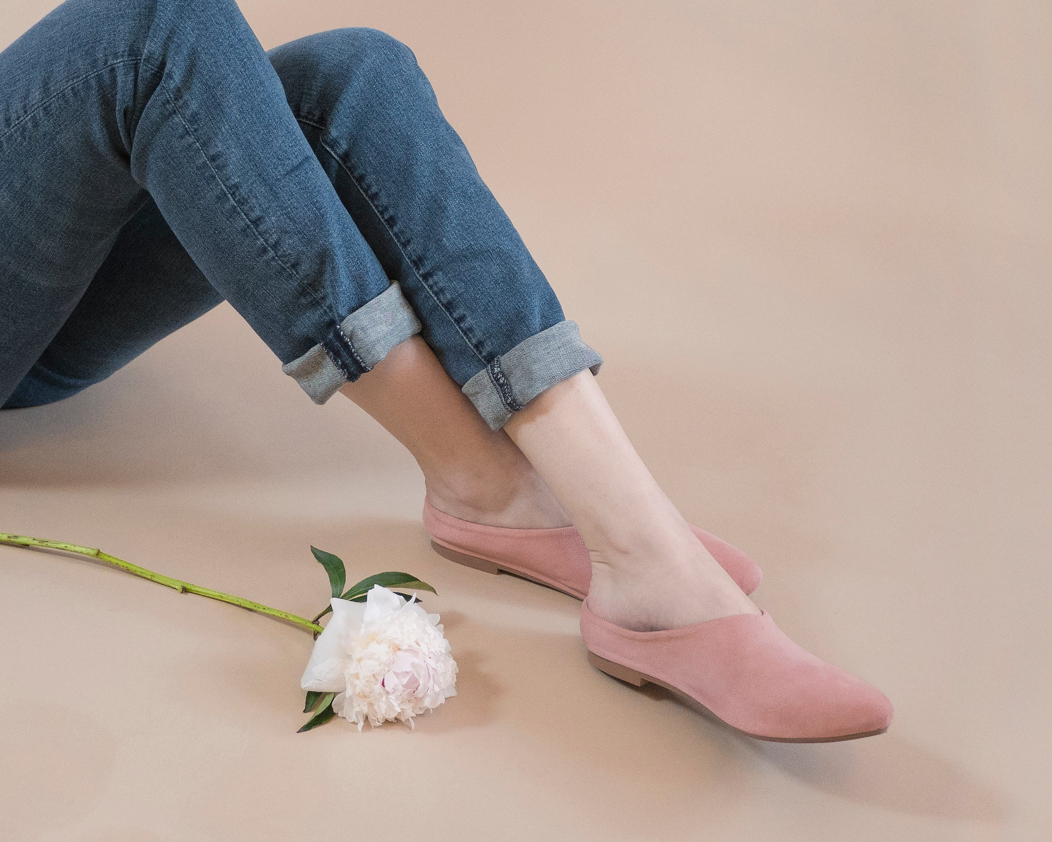 MADE-TO-ORDER Willow [Sabot Mule] Blush Pink