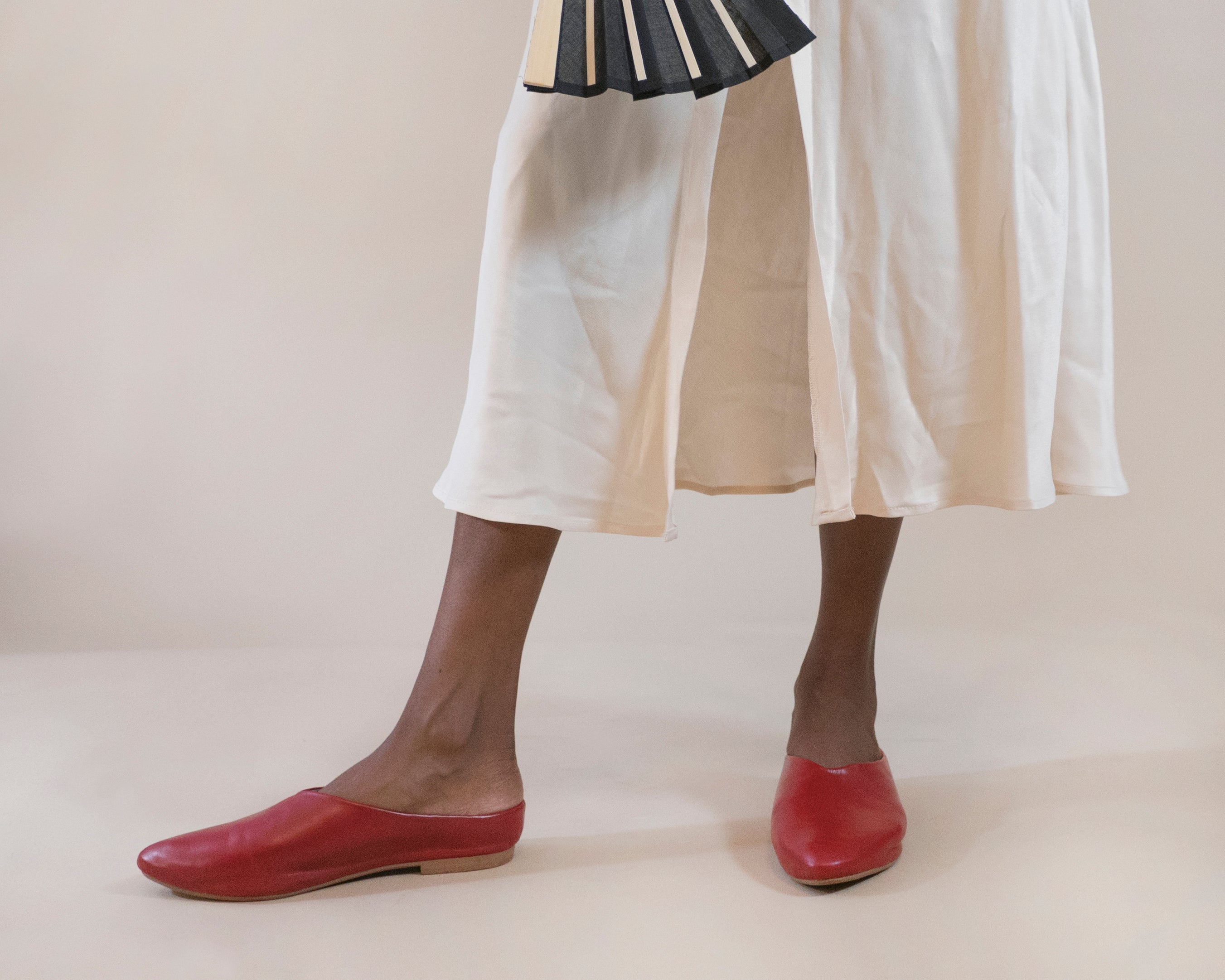 MADE-TO-ORDER Willow [Sabot Mule] Scarlet