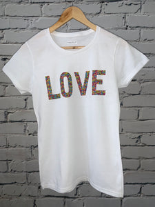 Love Mini Lips Short Sleeve Tee
