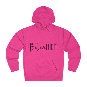 BelieveHER French Terry Hoodie