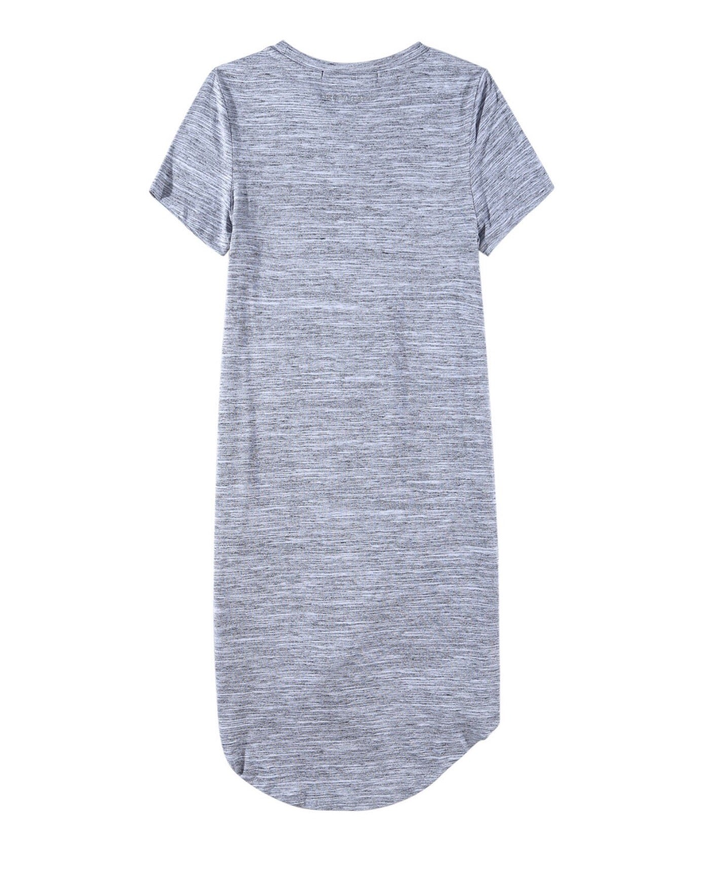 22be9390b7 SILENT THEORY - TWISTED TEE DRESS - GREY MARLE – Montaze The Entrance