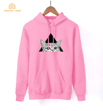Cat Triangle Hoodie