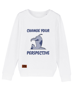 "Kinder Sweatshirt ""change your perspective"""
