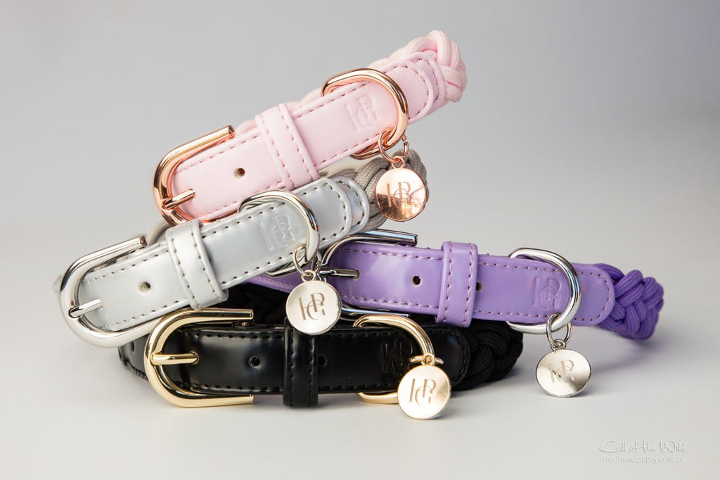 Plaited Dog Collars