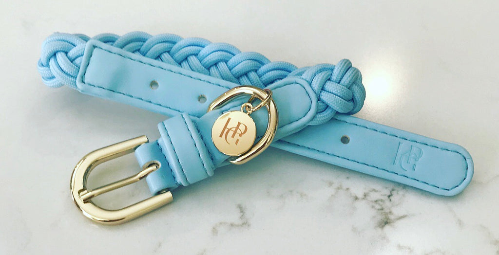 Dog Collar Cloud Blue