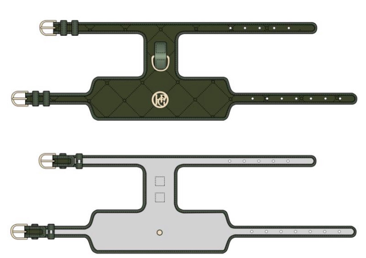 The 'Khaki' Dog Harness