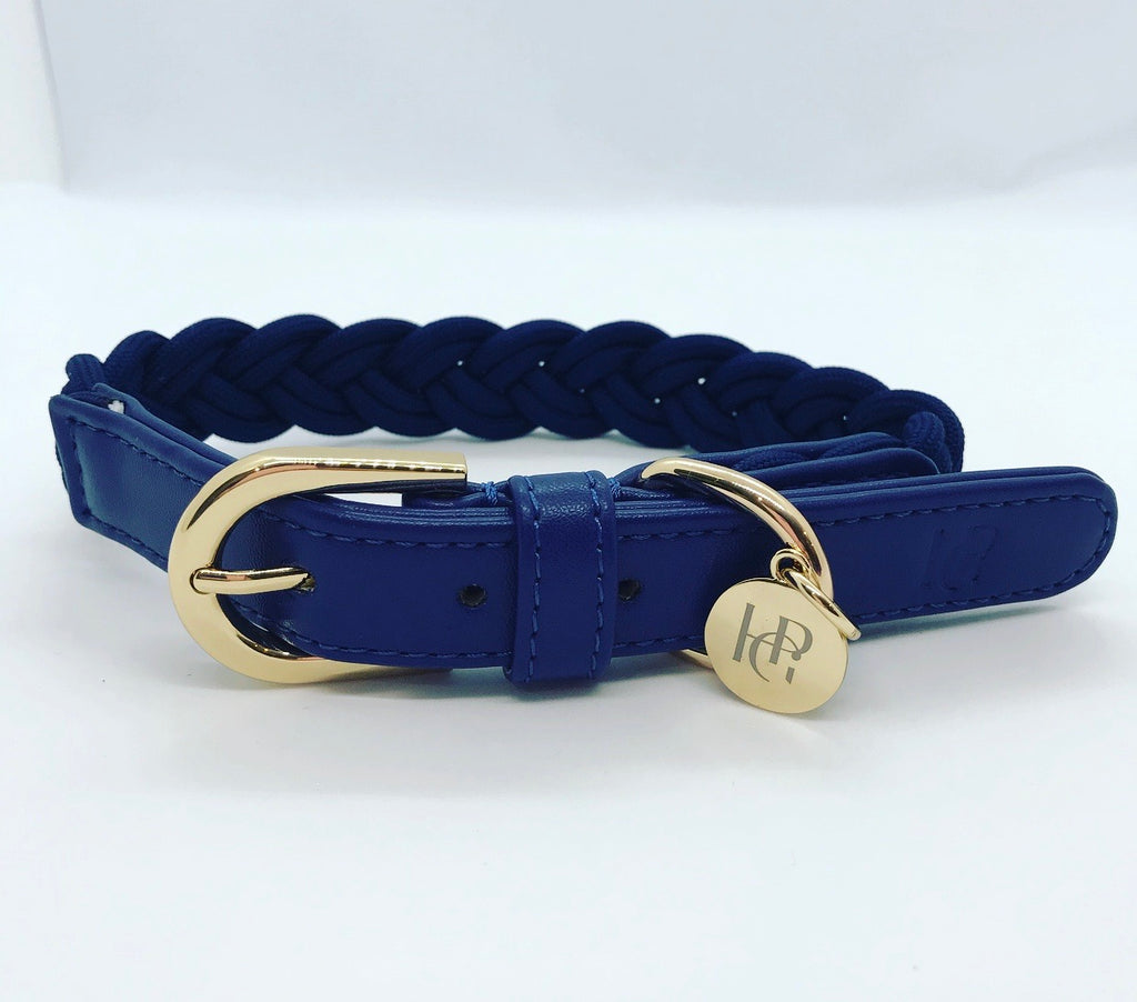 Dog Collar Indigo Blue